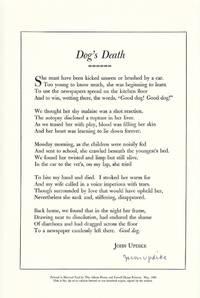 Dog's Death