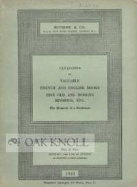London: Sotheby & Co, 1941. stiff paper wrappers. Bookbinding. 8vo. stiff paper wrappers. 32 pages. ...
