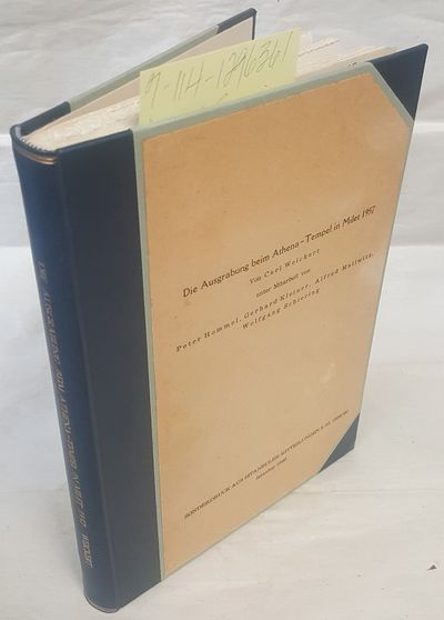 Istanbul: Sonderdruck Aus Istanbuler Mitteilungen, 1960. Hardcover. Octavo; VG/no-DJ; Dark blue spin...