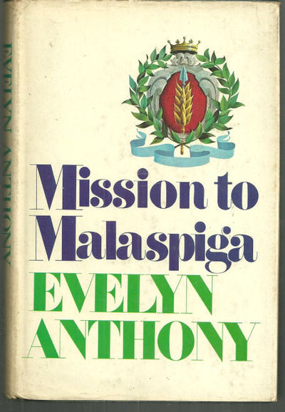 MISSION TO MALASPIGA, Anthony, Evelyn
