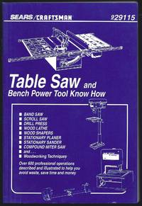 Table Saw And Bench Power Tool Know How: 929115