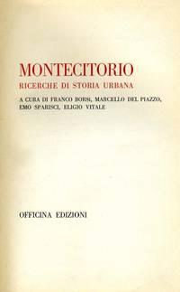 Montecitorio by  E. Vitale  E. Sparisci - 1972 - from Controcorrente Group srl BibliotecadiBabele and Biblio.com