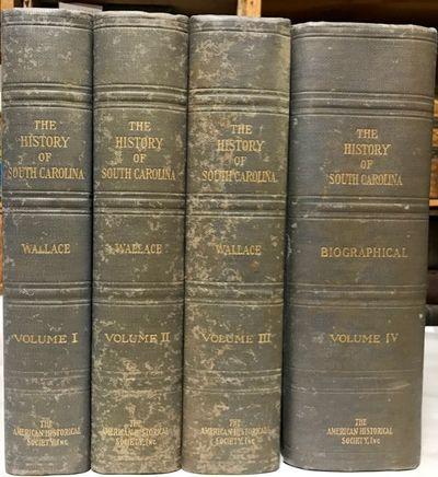 New York: The American Historical Society, Inc, 1934. Hardcover. Good. Quartos. 4 volumes (including...