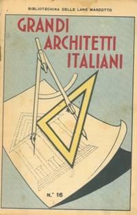 grandi architetti italiani by bibliotechina delle lane