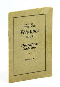 Willys-Overland Whippet Four - Operation and Care, Model 96-A