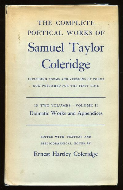 Oxford: Clarendon Press, 1962. Hardcover. Fine/Very Good. Reprint. VOLUME TWO ONLY (of 2). Fine in l...