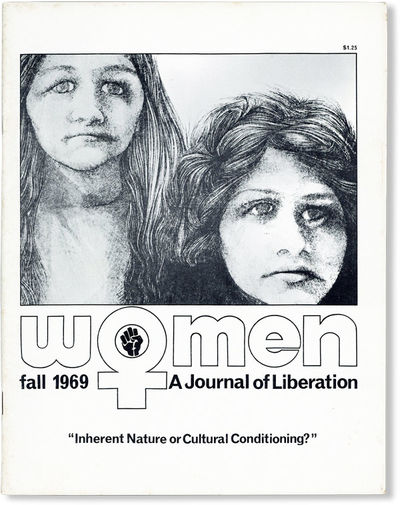 Baltimore: Women: A Journal of Liberation, Inc, 1969. First Edition. Quarto (28cm); illustrated card...