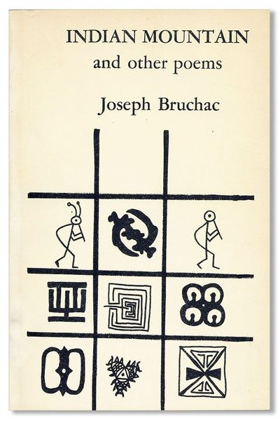 Ithaca: Ithaca House Books, 1974. First Edition. Octavo. Pictorial glossy card wrappers; 73pp. Cover...