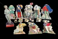 Little Boy''s Doll Paper Doll with 8 Costumes & Hats [Pretend Play, Social History]