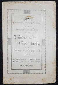 image of Program for Chimes of Normandy [Les Cloches de Corneville] by Robert Planquette