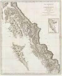 Cote Nord-Ouest de L'Amerique Reconnue Par le Cap'e Vancouver IV'e. Partie; [Voyage de Vancouver No. 7] [Neptune des cotes occidentales d'Amerique sur le Grand Ocean Atlas]