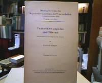 Tacitus über Augustus und Tiberius. Interpretationen zum Eingang der Annalen...