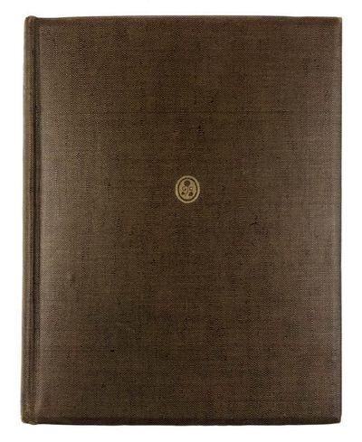 London: J. M. Dent, 1924. First edition. First edition. 4to. Original smoth brown buckram, gilt Crai...