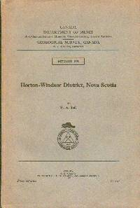Geological Survey, Canada  Memoir 155. Horton-Windsor District, Nova Scotia