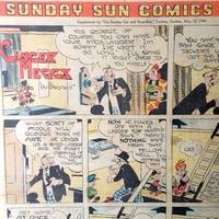 Sunday Sun Comics. Sunbeams Supplement to 'The Sunday Sun and Guardian' May 12 1946
