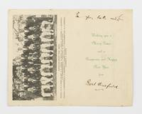 Australian Cricket Team. South African Tour, 1935-36 [cover title]. An official Christmas card