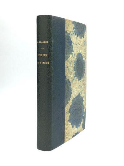 Paris: Ernest Flammarion, Editeur, 1927. First Edition. Hardcover. Very good. Presentation copy, ins...
