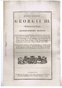 Anno Quinquagesimo Quarto, Georgii III Regis. CAP. I. An Act to enable His Majesty to accept the Services of a Proportion of the Militia out of the United Kingdom, for the vigorous Prosecution of the War