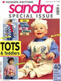 SANDRA FASHION KNITTING : SPECIAL ISSUE: Tots & Toddlers, February 1994, No 2/94