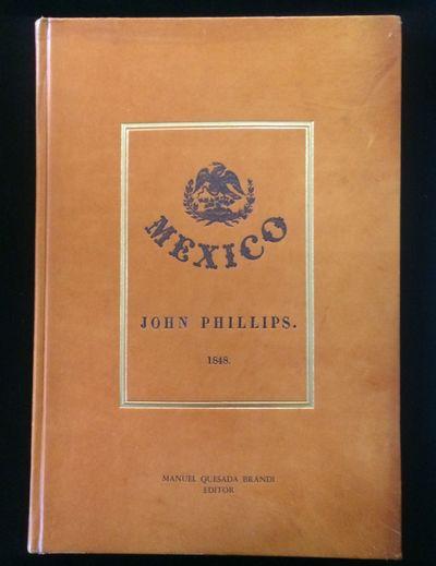 Manuel Quesada Brfandi, 1964. 1st Facsimile Edition.. Facsimile of 1848 edition, folio, full tan lea...