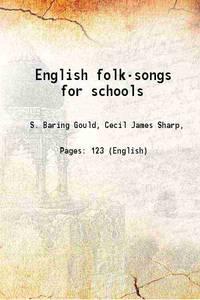 English folk-songs for schools