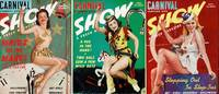 image of CARNIVAL COMBINED WITH SHOW (3 ISSUES)  A Fresh Magazine: January, April &  September 1941