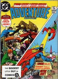 Adventure Comics #497 by  Ed  Carl  - Paperback  - 1st Edition  - 1983  - from citynightsbooks (SKU: 15245)
