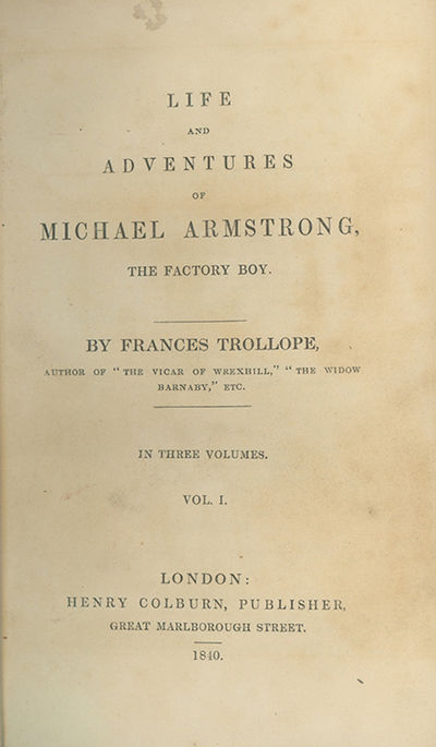 London: Henry Colburn, 1840, 1840. First edition in book form, preceded by the issue in monthly part...