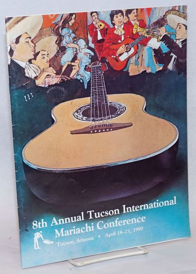 Tucson: La Frontera Center, 1990. Magazine. 8.5x11 inches, photos, schedule, performers, ads, very g...