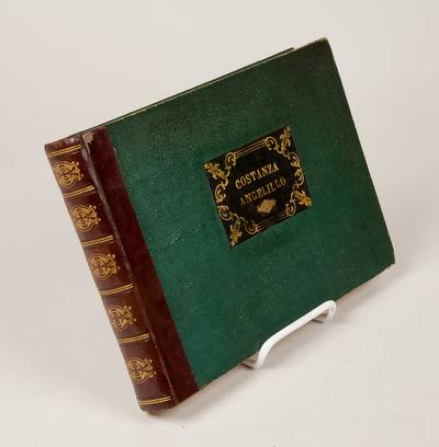 Girard: Naples, 1838. Oblong quarto. Contemporary quarter dark brown calf with green textured paper ...