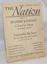image of The Nation: America's Leading Liberal Weekly Since 1865; Vol. 174, No. 1, Saturday, January 5 1952