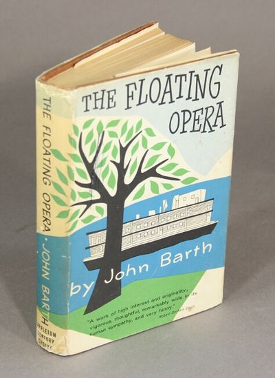 New York: Appleton-Century-Crofts, 1956. First edition of the author's first novel, 8vo, pp. , 280; ...