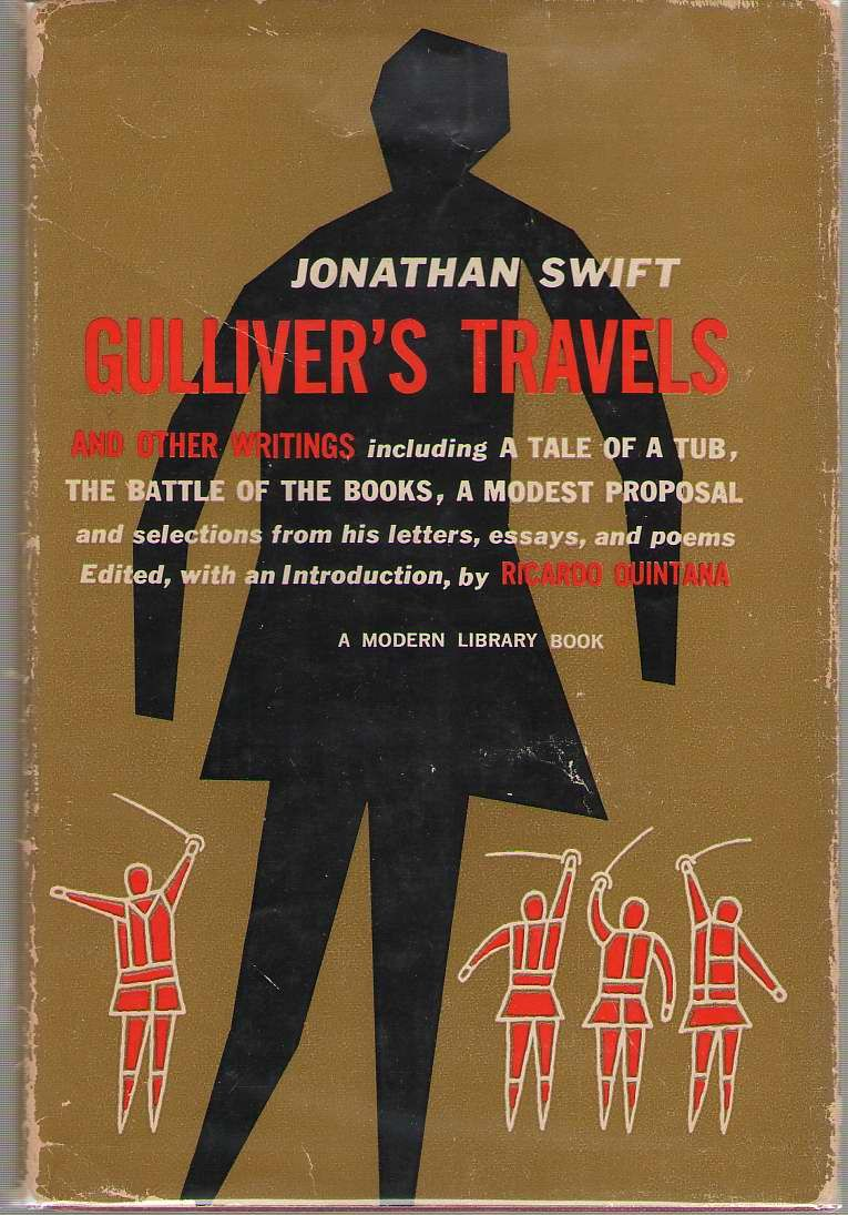 Book Jacket Of Gulliver S Travels