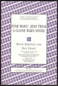 Star Wars: Jedi Trial by  Dan  David; Cragg - Paperback - First Edition - 2004 - from Parigi Books, ABAA/ILAB (SKU: 12079)