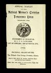 Annual Leaflet of the National Woman's Christian Temperance Union, 1902