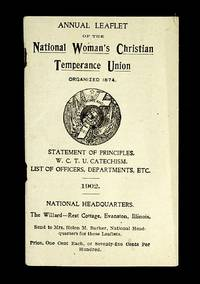 Annual Leaflet Of The National Woman's Christian Temperance Union, 1902 - Used Books