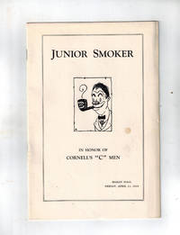 "image of (College Sports) Junior Smoker in Honor of Cornell's ""C"" Men, Bailey Hall, Friday, April 11, 1919"