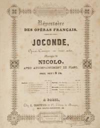 Joconde, Opéra-Comique en trois actes... Répertoire des Opéras Français... avec...