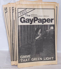 image of The Gay Paper aka The Baltimore Gay Paper: twelve issue run of volume 2, 1980