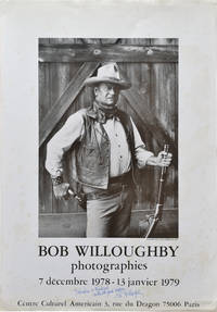 image of Bob Willoughby photographie (Original exhibition poster, signed)