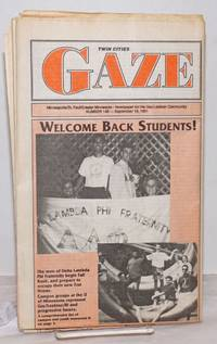 image of Twin Cities Gaze: the news bi-weekly for the Twin Cities Gay/Lesbian Community #148, September 19, 1991; Welcome Back Students!