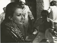 image of Medea (Two original photographs of Pier Paolo Pasolini and Maria Callas from the set of the 1969 film)