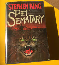 Pet Sematary Stephen King 1983 DoubleDay 1st Ed. HC w/ DJ