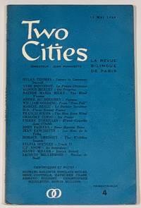 TWO CITIES.  La Revue Bilingue de Paris.  Trimestrielle 4.  15 Mai 1960