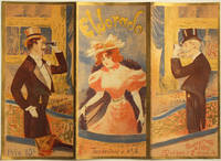 Carte programme de l'Eldorado, 1897 [lithographie en couleurs]