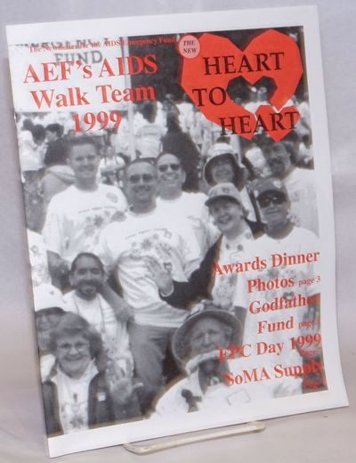 San Francisco: AIDS Emergency Fund, 1999. 8p. includes covers, 8.5x11 inches, illustrations, event c...