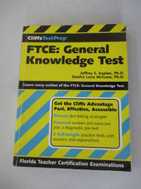 CliffsTestPrep FTCE: General Knowledge Test (Cliffsnotes Testprep)