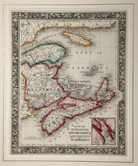 County Map of Nova Scotia, New Brunswick, Cape Breton Island and Pr. Edward's Island with an inset of the City and Harbor of Halifax