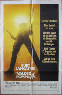 Valdez Is Coming - Original Folded One Sheet Movie Poster (1971)
