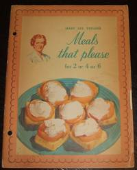 image of Mary Lee Taylor's Meals That Please for 2 or 4 or 6